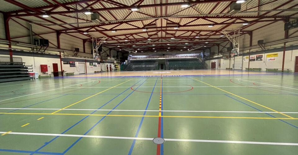 Régie Sportive Hutoise : Infrastructure sportive : Halls Omnisports