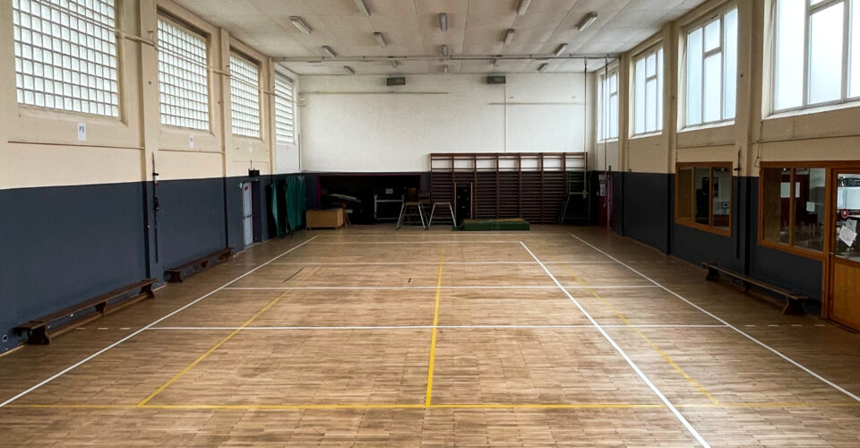 Régie Sportive Hutoise : Infrastructure sportive : Gymnase de Tihange