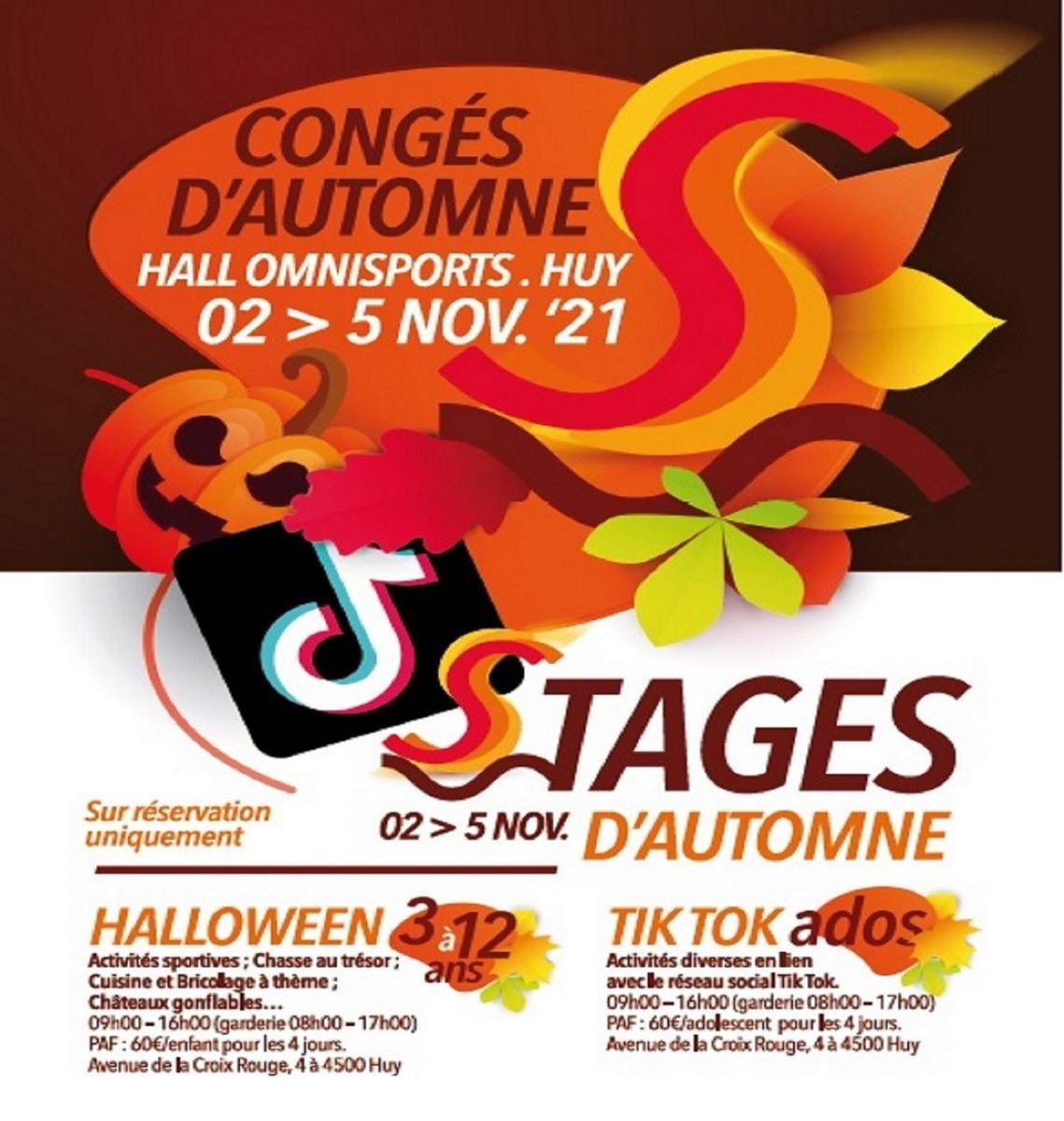 Régie Sportive Hutoise : Stages